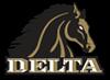 Delta Athletics Mascot Logo Fierce