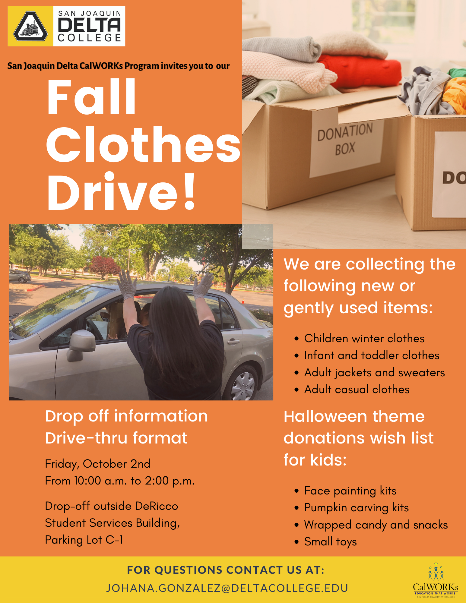 CalWORKS Clothes Drive