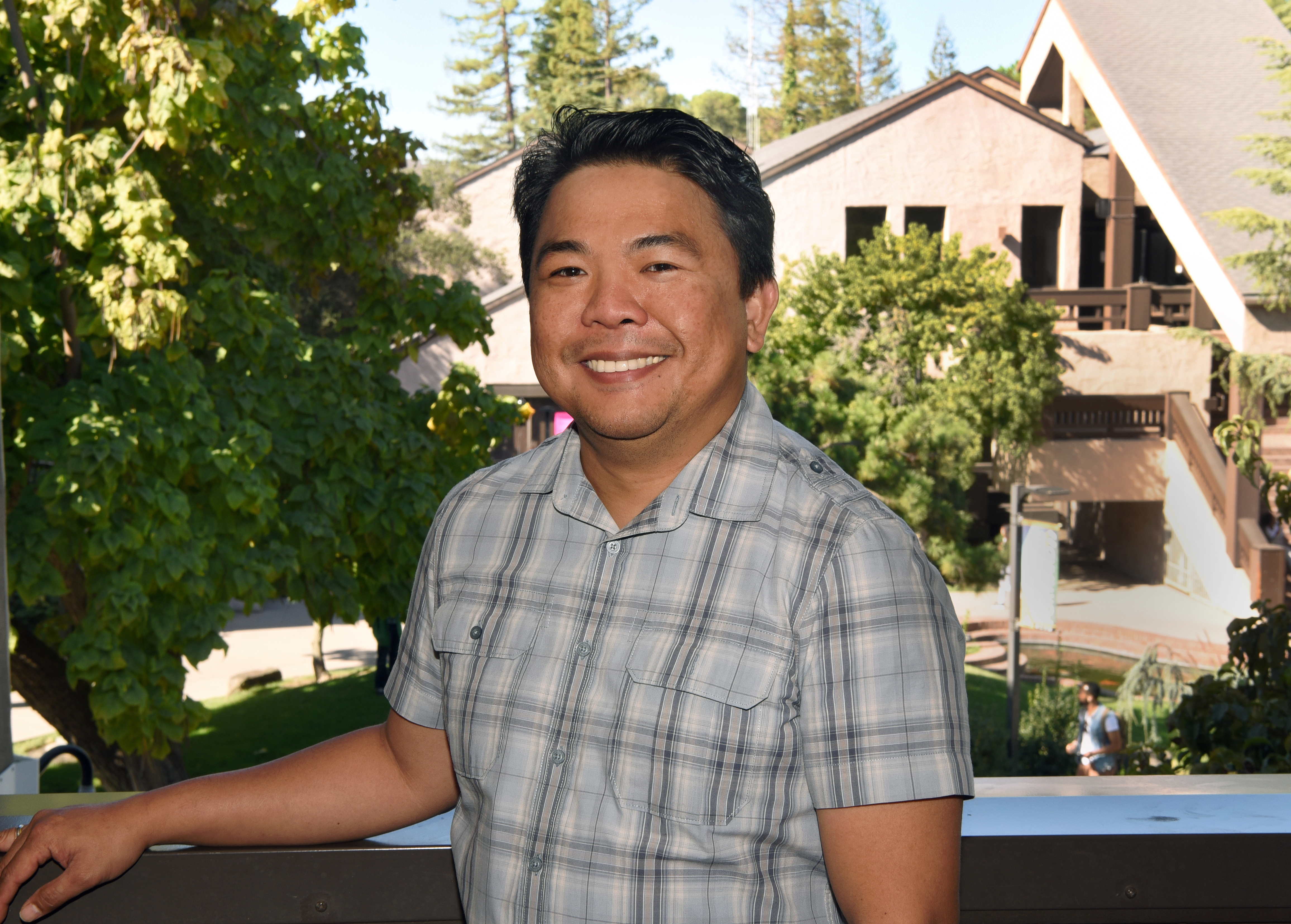 Gerry Hinayon was named a distinguished faculty member by San Joaquin Delta College.