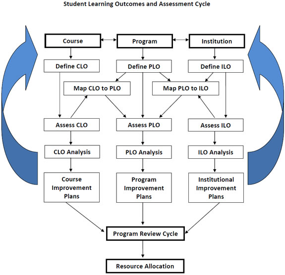 Student Learning Outcomes and Assessment Cycle