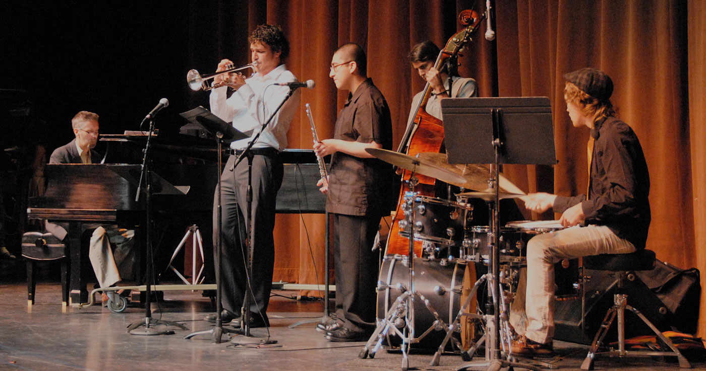 Jazz Band students perform