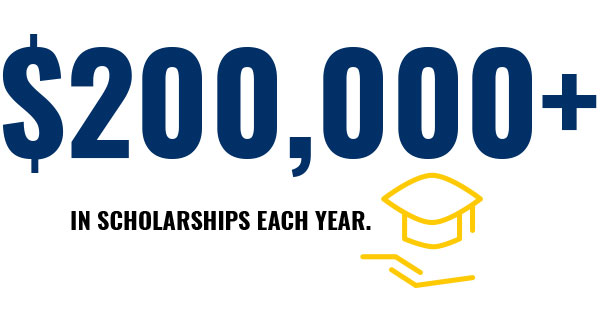 Scholarships Graphic