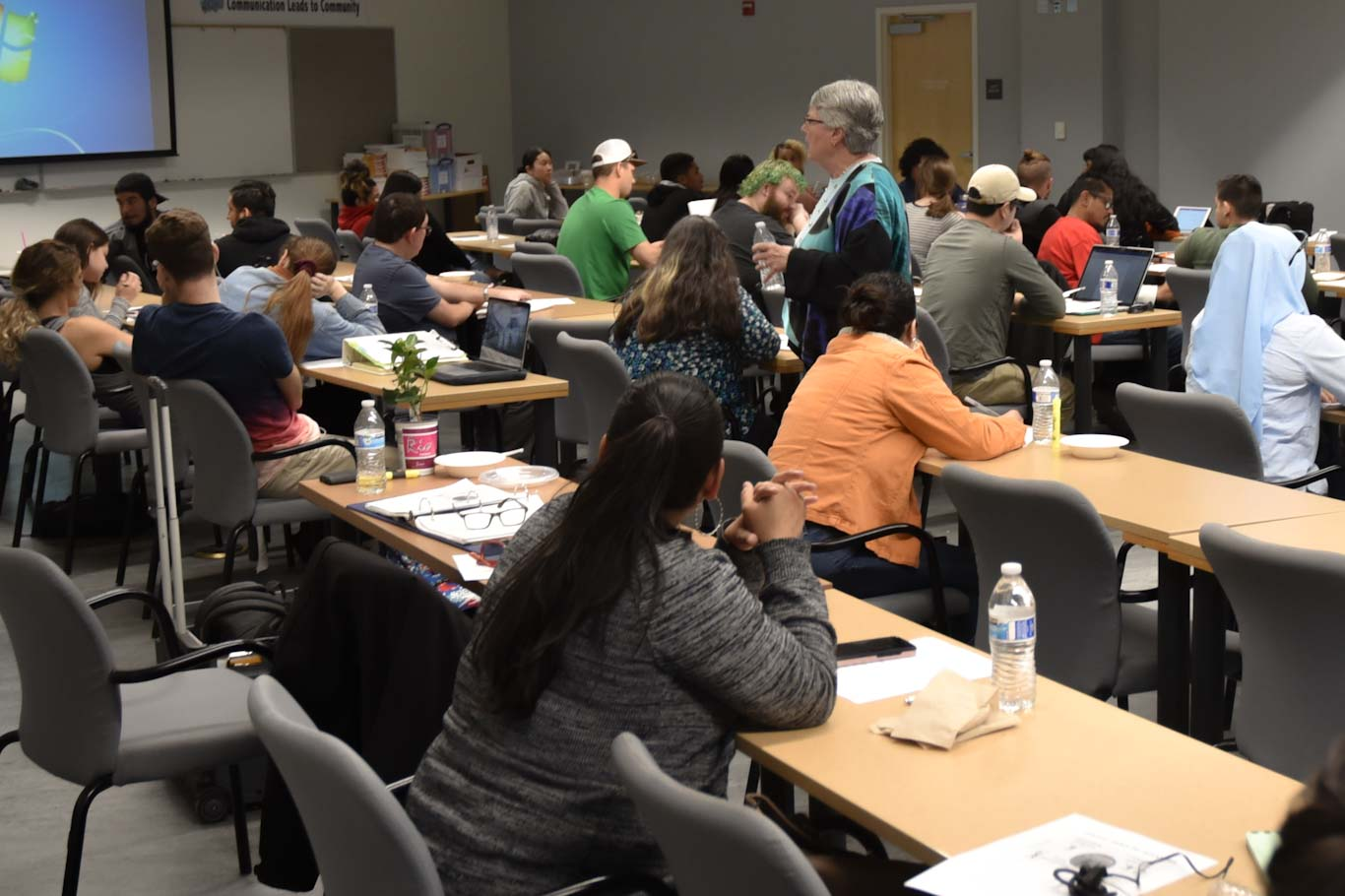About 70 San Joaquin Delta College students completed a series of workshops to help them gain leadership skills.