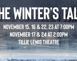 """San Joaquin Delta College drama students present Shakespeare's classic, """"The Winter's Tale,"""" starting Nov. 15 at Tillie Lewis Theatre."""