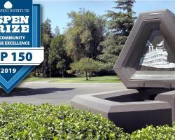 Delta Coollege campus entrance