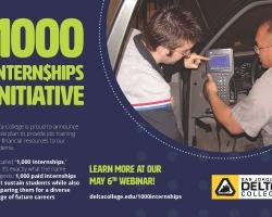 1,000 Internships at Delta College