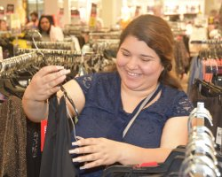 The Suit-Up event at JCPenney gave San Joaquin Delta College students a chance to shop for professional attire at a deep discount.