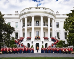 The U.S. Marine Band will make a rare appearance in Stockton during an Oct. 17 performance at Delta College.