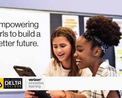 San Joaquin Delta College is hosting the Verizon Innovative Learning program, which will help prepare middle school girls for tech careers of the future.