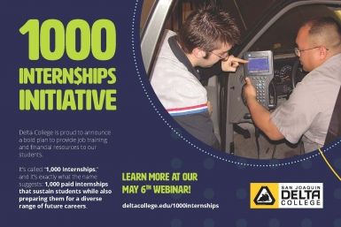 1,000 Internships at Delta College