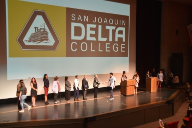 San Joaquin Delta College students will receive a record-high amount of scholarship money this year thanks in part to the new Stockton Scholars program.