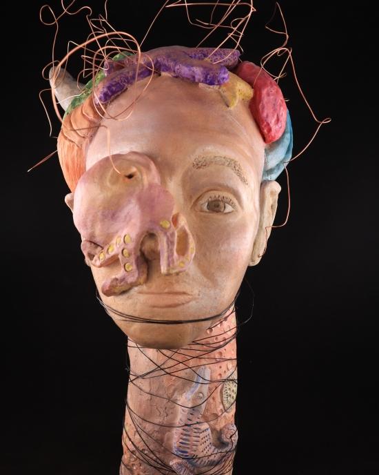 Alicia Van de Bor - Sculpture - Bust