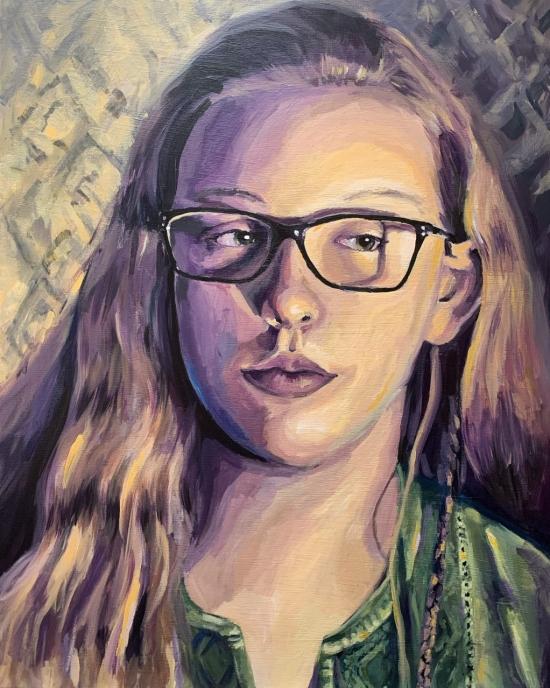 Abigail Glass - Painting - Portrait