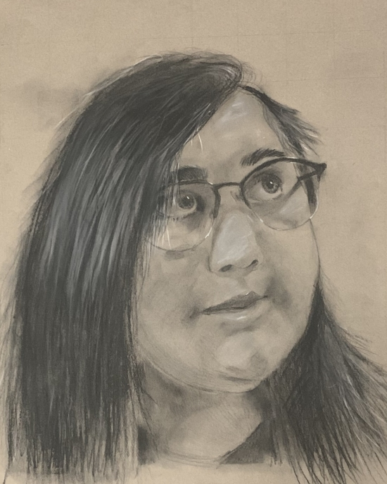 Isabelle Haro - Drawing - Portrait