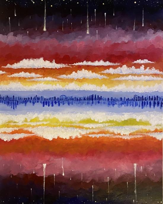 Erika Beltran - Painting - Scenery