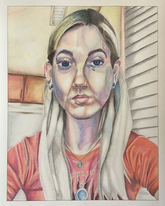 Carlos Huipe - Drawing - Portrait