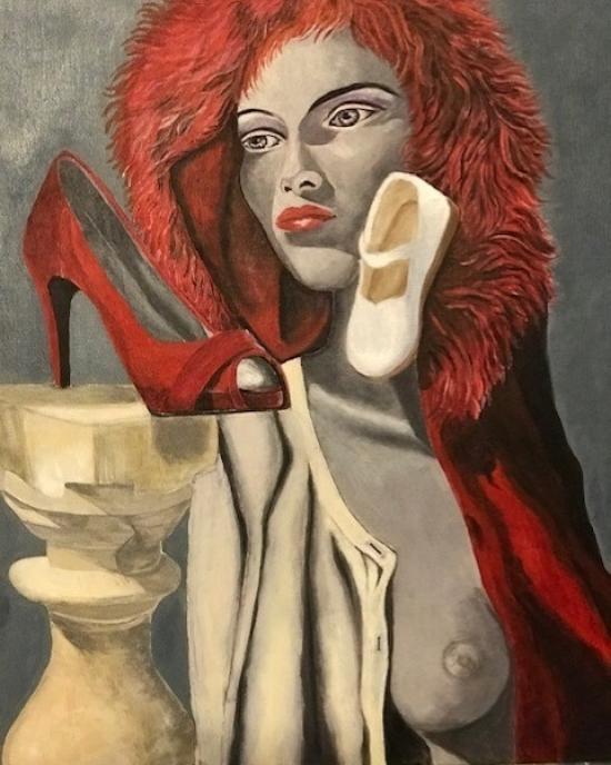 Lance Celia Cardoza - Painting - Collage