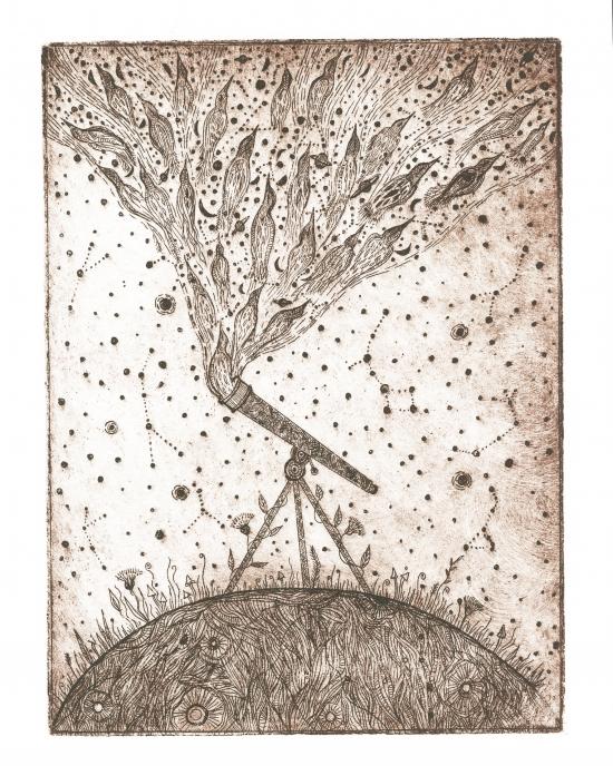 Elise Mahan - Printmaking - Abstract