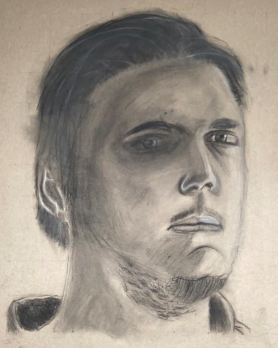 Izak Miller - Drawing - Mobile