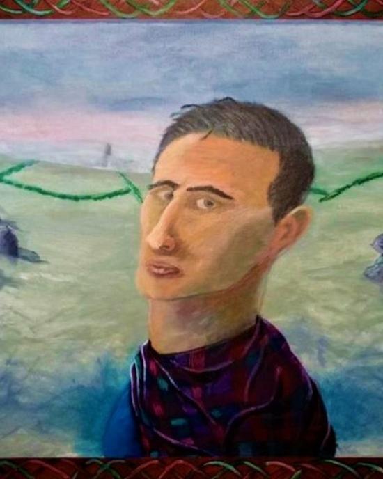 Kyle Silligman - Painting - Portrait