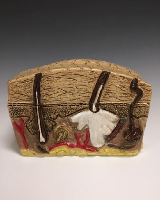 Stephen Rivas - Ceramic - Box