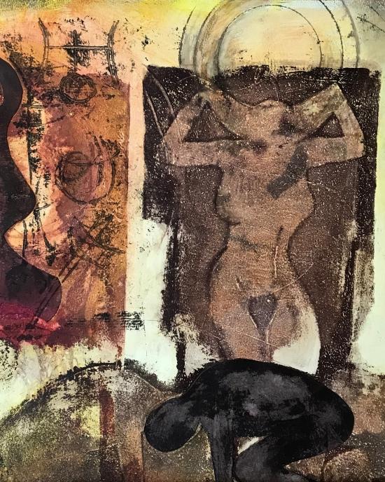 Franca Van Allen - Printmaking - Abstract