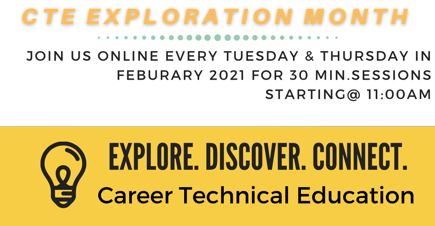 CTE Exploration Month Header Image