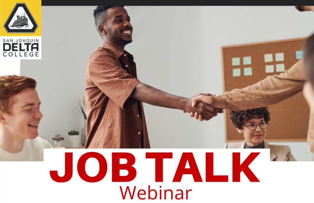 Job Talk Webinar Image