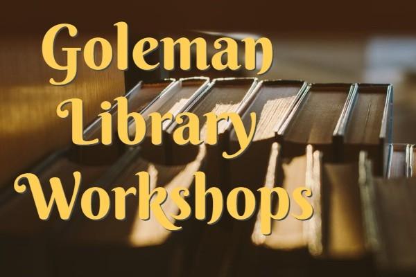 Library Workshop Promo