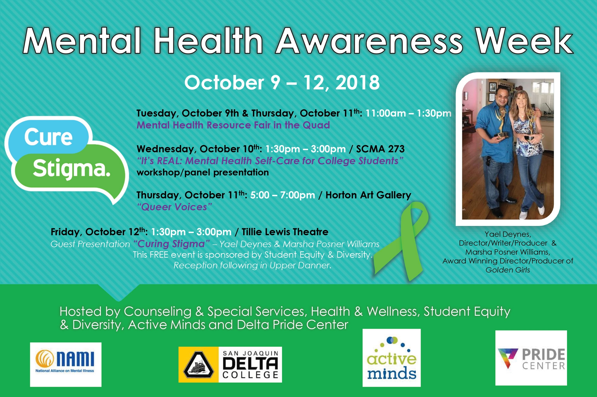 Mental Health Awareness Week Workshop Panel Presentation San