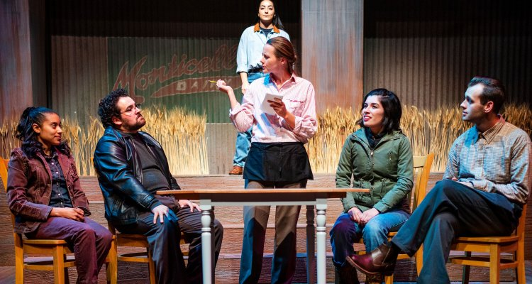 """The Laramie Project,"" a 2018 production by San Joaquin Delta College drama students."
