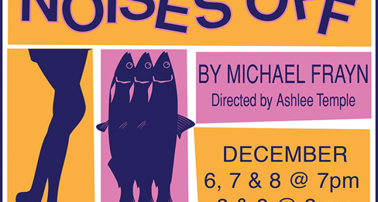 "San Joaquin Delta College drama students present ""Noises Off,"" a comedy about a comedy."