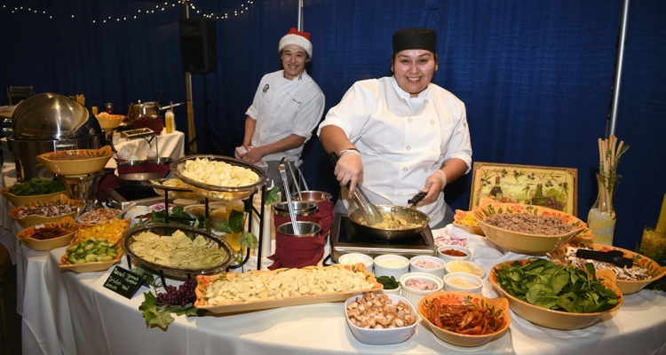 "Culinary arts students at San Joaquin Delta College will host their annual ""Winter Feast"" fundraiser on Dec. 5."