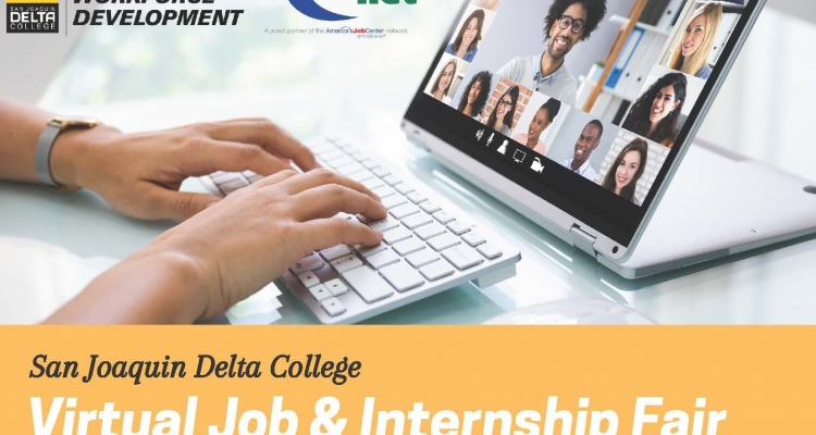 Virtual Job and Internship Fair at Delta College
