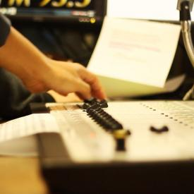 Radio production class